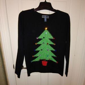 EUC Karen Scott Ugly Christmas Sweater Size PXL